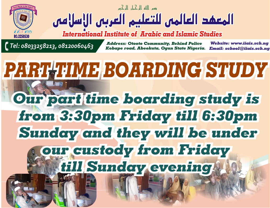 PART TIME BOARDING STUDY