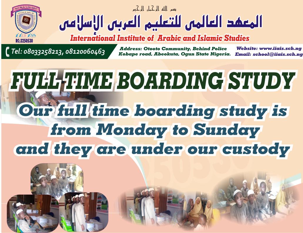 full time boarding