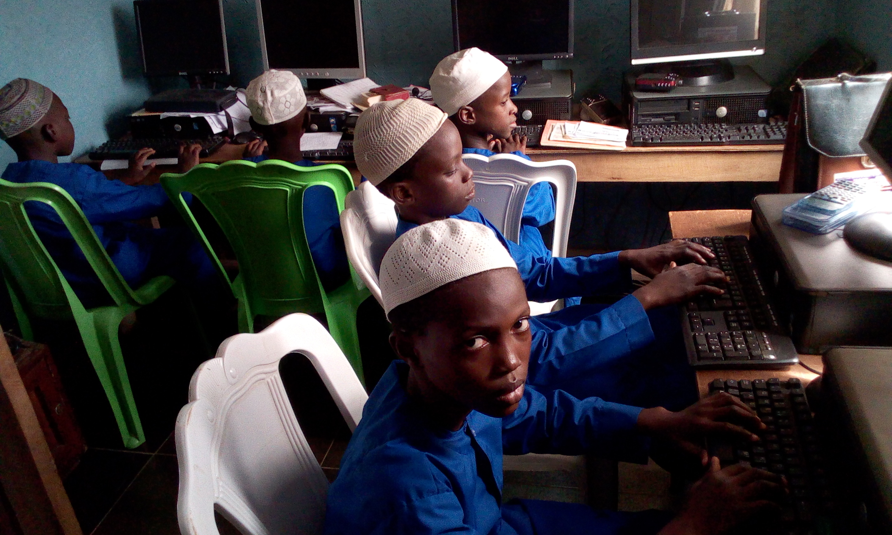 IIAIS STUDENT ARE IN HOSTEL COMPUTER LAB 2