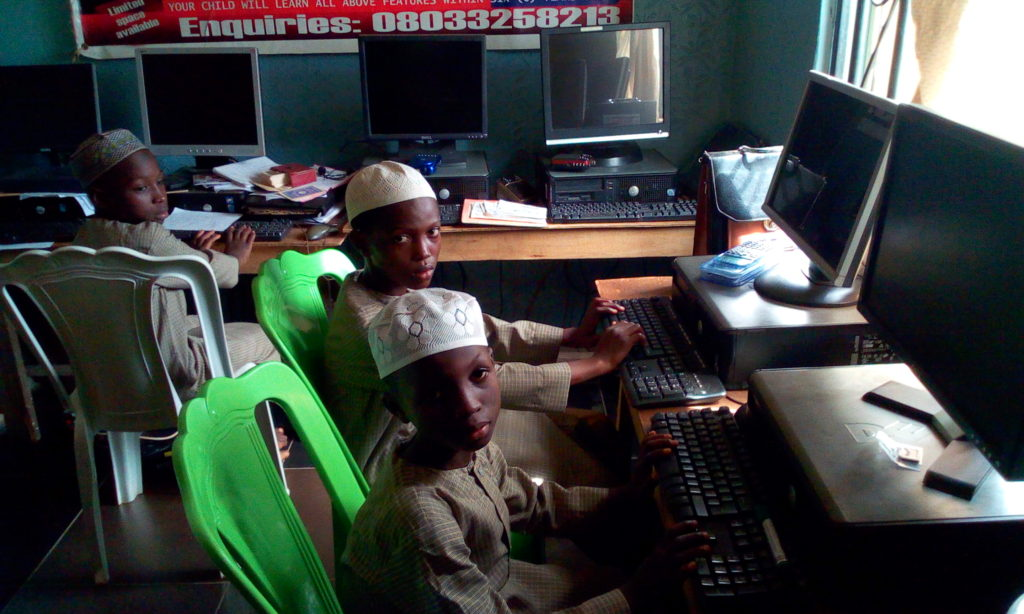 IIAIS STUDENTS ARE IN COMPUTER LAB1