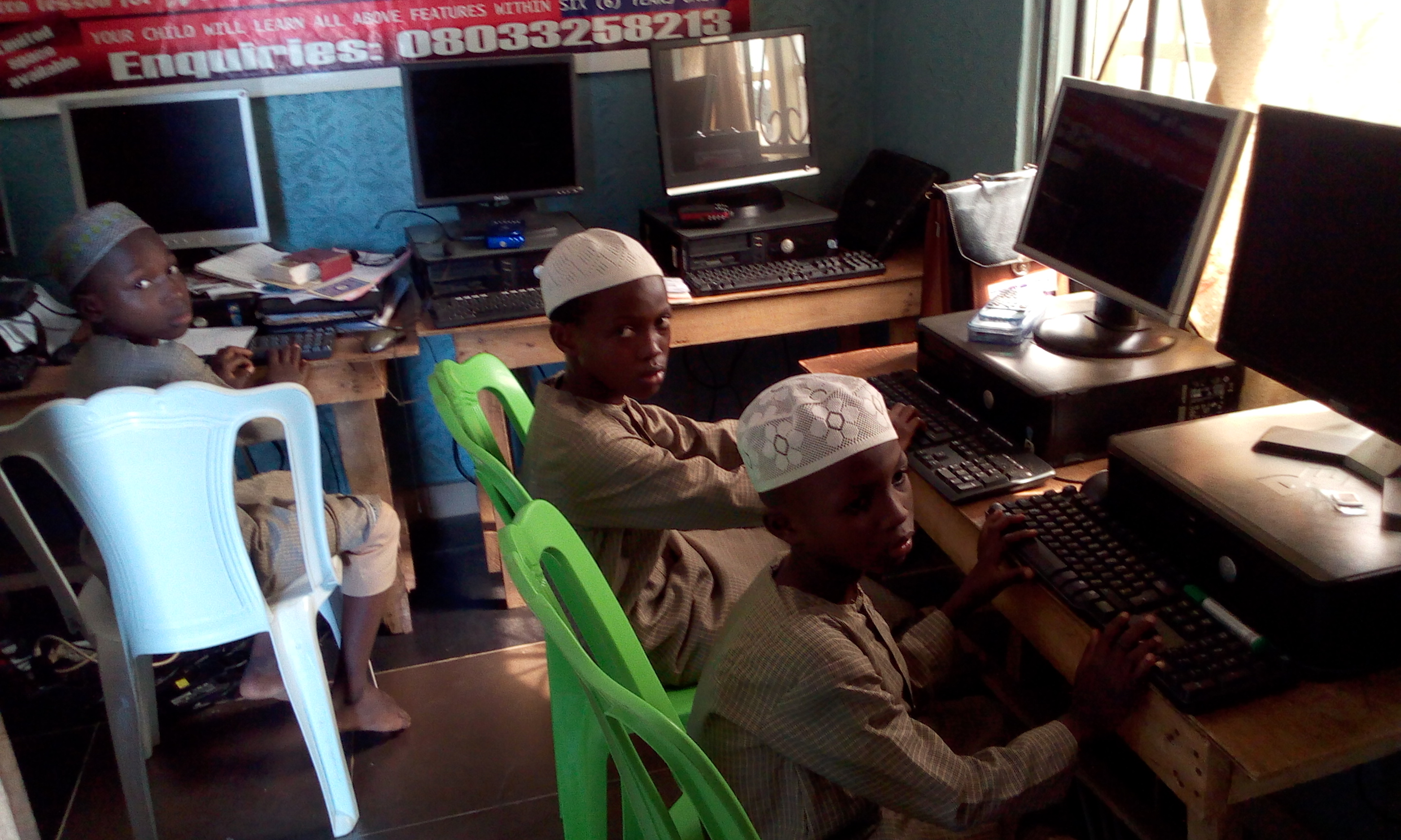 IIAIS STUDENTS ARE IN COMPUTER LAB11