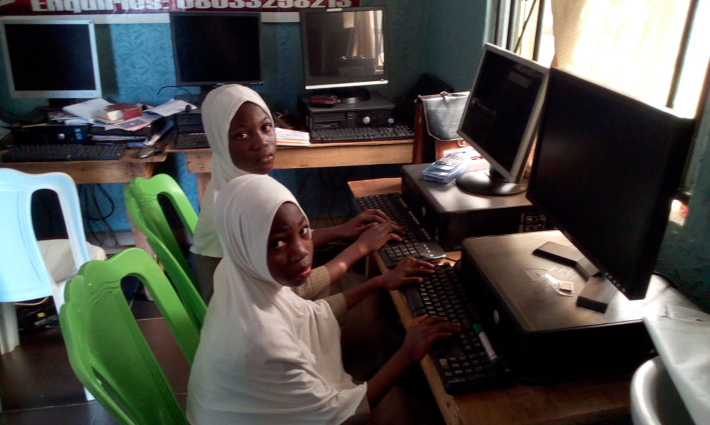 IIAIS STUDENTS ARE IN COMPUTER LAB16