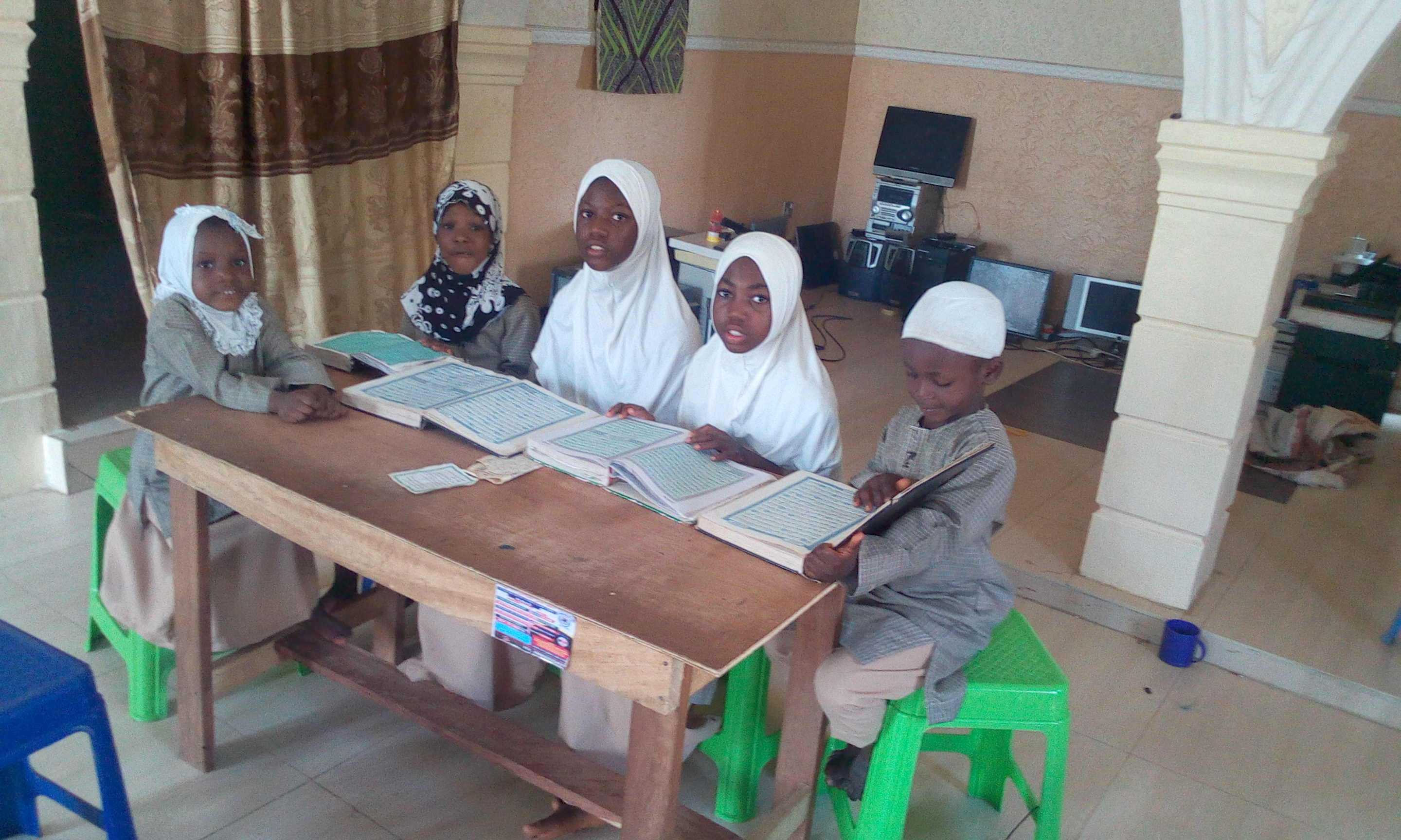 IIAIS STUDENTS ARE IN QUR'AN MEMORIZATION DRILL212